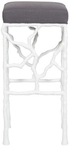 Vanguard Furniture: V349-BS Piers Metal Frame Bar Stool