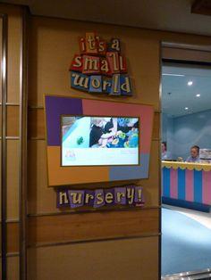 ed609f8af96b4 Disney Cruise Line It s a small world nursery World Cruise