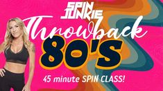 Throwback Playlist, Indoor Cycling, Spin Class, Spinning, Fitness Classes, Exercise, Songs, Felicia, Ejercicio