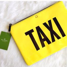 Kate spade Taxi /off duty clutch bag New with tag never used 100%Authentic kate spade Bags Clutches & Wristlets