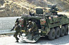 Stryker Armored Vehicle   U.S. Army Stryker