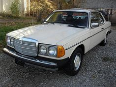 1980 Mercedes 280 CE. My new car <3
