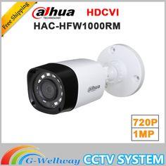 Wholesale dahua HAC-HFW1000RM 1MP HDCVI IR Bullet Camera Smart IP67 720P HD CCTV Lite Series DH-HAC-HFW1000RM