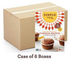 Wholesale Pumpkin Almond Flour Muffins (Case of 6)  OBSESSED WITH THESE.
