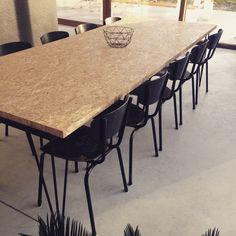 Osb#table#tubaxchair