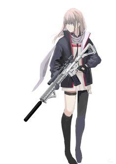 Anime Girl Hot, Anime Girl Neko, Otaku Anime, Anime Art Girl, Kawaii Anime, Anime Military, Military Girl, Girls Characters, Anime Characters