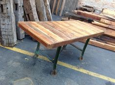 SOLD RX Made Industrial Table