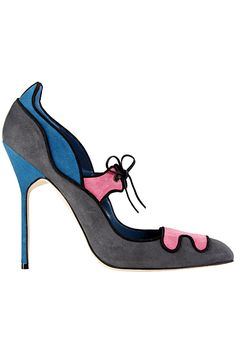 Manolo Blahnik - Shoes - 2012 Fall-Winter..Funkalicious!