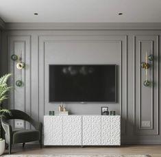 Classic Living Room, Elegant Living Room, Modern Luxury Bedroom, Luxurious Bedrooms, Home Room Design, Home Interior Design, Salon Simple, Living Room Tv Unit Designs, Decor Home Living Room