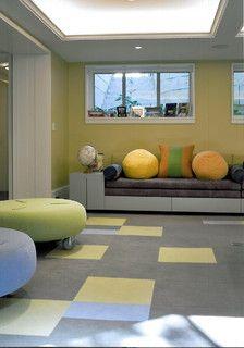 Playroom - contemporary - kids - chicago - by SemelSnow Interior Design, Inc.