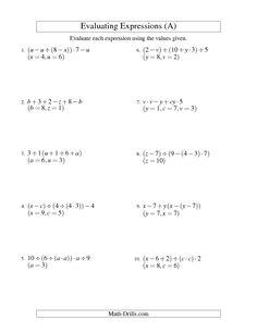 algebra worksheet missing numbers in equations symbols multiplication range 1 to 9 a. Black Bedroom Furniture Sets. Home Design Ideas