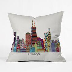 The Urban Way Throw Pillow Cover   dotandbo.com