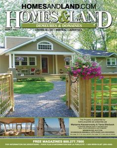 -- Volume 4 Issue 8 -- Homes&Land Demeures & Domaines by Marianna Kaosarovsky & Tanya Ellerbeck