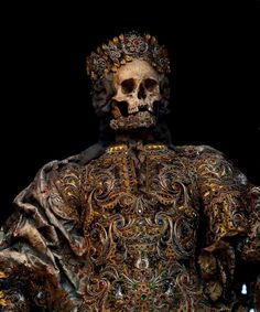 'Taken from the catacombs of Rome in the 17th century, the relics of twelve martyred saints were then attired in the regalia of the period before being interred in a remote church on the German/Czech border.'    - Immortal, Toby de Silva    …    All images by Toby de Silva