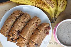 Vláčny, zdravý banánový chlieb bez cukru a tuku Banana Madura, Cooking Recipes, Healthy Recipes, Cookies Et Biscuits, Healthy Baking, Banana Bread, French Toast, Clean Eating, Brunch