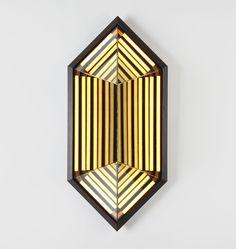 Stella Hexagon (Black). Designed by Rosie Li for Roll & Hill