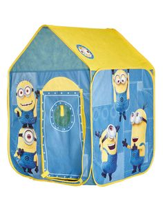 Official Despicable Me Minions Pop Up Play Tent for Indoor and Outdoor Use.