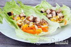 Idée lunch santé vide frigo #lunch #santé #healthy #laitue #lettuce #wrap #cuisine #food #chicken #poulet #frigo #lunch #grilledchicken #pouletgrillé