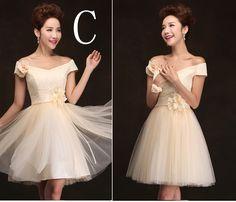 demoiselle d'honneur courte formelle demoiselles d'honneur robes en robe bridemaid