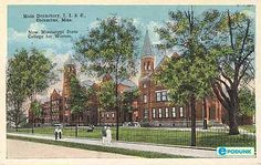 """I began my graduate education in this building at Mississippi State University for Women in Columbus, Mississippi, 1971.  The school was referred to as """"The W."""""""