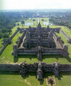 Incredible Angkor Wat Temple - Cambodia