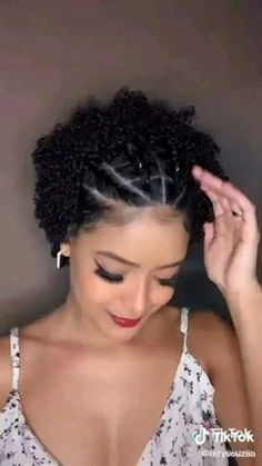 Natural Hair Pixie Cut, Natural Tapered Cut, Mixed Curly Hair, Tapered Hair, Natural Hair Braids, Curly Hair Tips, Curly Hair Care, Short Curly Hair, Twa Natural Hairstyles