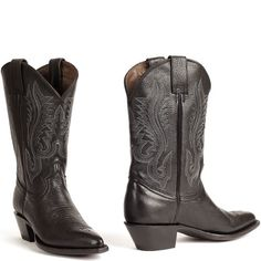 Cowboylaarzen dames Deerlite Basic Black (Woman)