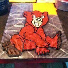 Koda - Brother Bear perler beads by hopewell147 - Pattern: https://de.pinterest.com/pin/374291419001097417/
