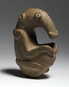 The Ambum Stone, Ambum Valley, Enga Province, Papua New Guinea, 1500 BCE, Greywacke