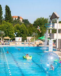 zwemmen in de waterpark Terme Ptuj in Slovenië; bron Mark Koghee
