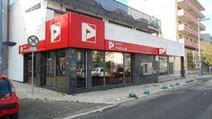 Balcão do Banco Popular na Amadora