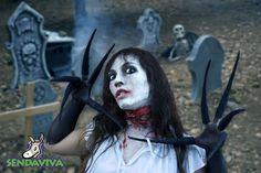 Senda del Terror. Sendaviva se transforma en Halloween.