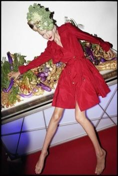 Have A Foodie Holiday, Barney's F/W 10 campaign (Barneys)