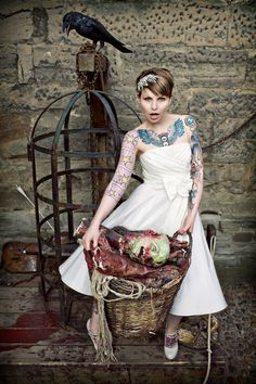 Tattooed Bride - Steve Gerrard Photography