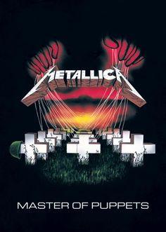 metallica artwork | Metallica posters - Metallica Master Of Puppets poster PP0342 - Panic ...
