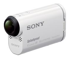 Sony Action Camera - The Sony has been designed as a HD wearable high-end action camera offering high quality XAVC S recording with high bit rate data transfer, as well as supporting video and high-speed or Sony Camera, Video Camera, Remote Viewing, Wearable Technology, Cool Things To Buy, Stuff To Buy, Gopro, Shopping
