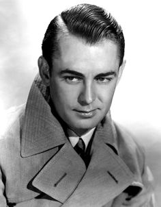 """""""I have the face of an aging choirboy and the build of an undernourished featherweight. If you can figure out my success on the screen you're a better man than I."""" - Alan Ladd"""