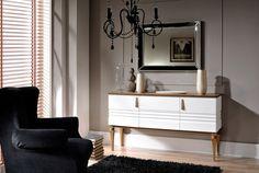 Taranko-Torino nappalibútor - Home Concept Lakberendezési Webáruház Glass Furniture, White Furniture, Modern Traditional, Solid Wood, Cabinet, Storage, Home Decor, Interiors, Clothes Stand