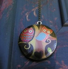 Awesome Owl Necklace- craft time?!