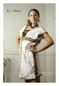 Vestidos con y sin mangas, Ropa, Vestidos Weaving Techniques, Lana, Hand Weaving, Saree, Clothing Ideas, Clothes, Diy, Fashion, Vestidos