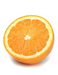 Stuck in the afternoon slump? Nibble on an orange for a refreshing scent and a boost of vitamin C. #food #health #nutrition