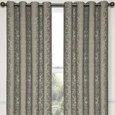 Eclipse™ Nolita Grommet-Top Blackout Curtain Panel with Thermalayer - JCPenney