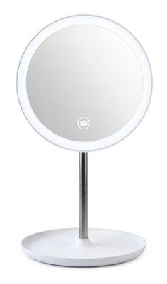 Bijoux Plaqué Chrome Bain Salle Miroir Double Face Make Up dessus de table Miroir Nouveau