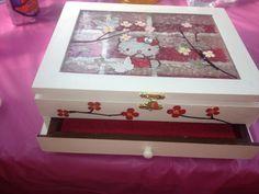 Hello Kitty Jewelry Box on Etsy, $25.00