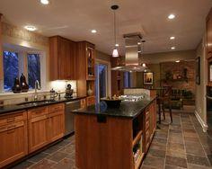 slate floor kitchen | wild fire slate kitchen floor-united states