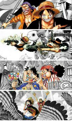 Luffy-sama and Ussop