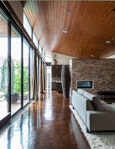 Bluffview Project - contemporary - living room - other metro - Stocker Hoesterey Montenegro