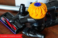 Our Dyson V6 Slim review shares details about this exclusive to Walmart vacuum model and how it can help you around the house! See why we're loving it!