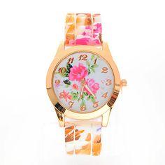 's dida vrouwen bloemenprint horloge – EUR € 2.47