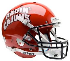 best college football helmets | Louisiana Lafayette Ragin' Cajuns Replica XP Helmet by Schutt